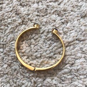Kate Spade - Black and Gold Bangle Cuff Bracelet